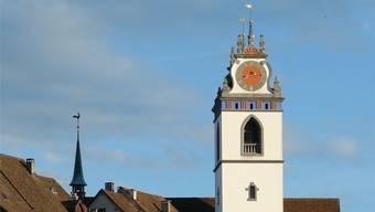 Die Stadtkirche in Aarau