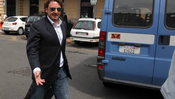 Der ehemalige Lazio-Star Giuseppe Signori wurde verhaftet