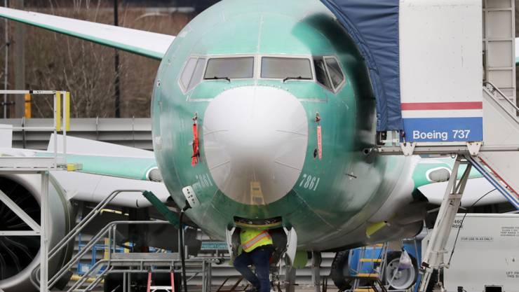 Der Flugzeugbauer Boeing verliert eine weitere Bestellung für den Problemflieger 737 Max.(Archivbild)