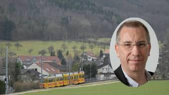 «Bei uns in Witterswil wird für Bauland an guter Lage der Quadratmeterpreis mit rund 1100 Franken gehandelt.» Mark Seelig Gemeindepräsident Witterswil