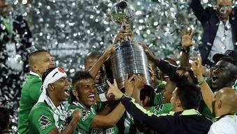 Holten erstmals seit 1989 wieder die Copa Libertadores: die Spieler von Atletico Nacional
