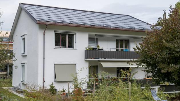 Nach der Sanierung hat sich der Energieverbrauch dieses Hauses um 80 Prozent gesenkt.Mathias Marx