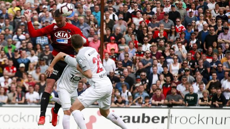 Der goldene Treffer von Stefan Maierhofer in der 64. Minute.