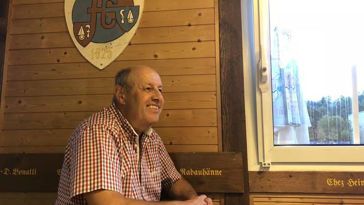 Heinz Setz ist seit Mitte September 2018 Präsident vom FC Engstringen