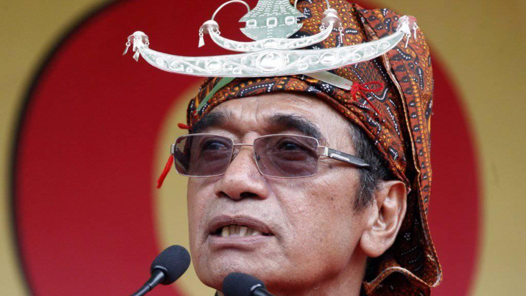 Beste Aussichten: Francisco Guterres kämpft in Osttimor um das Präsidentenamt.