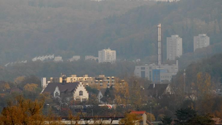 Blick von Turgi nach Baden: Die Anschlussabsichten werden befürwortet, sie liegen für einige aber noch in zu weiter Ferne. Walter Schwager
