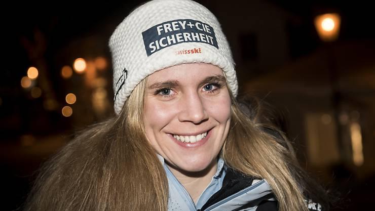 Gab nie auf: die Nidwaldnerin Andrea Ellenberger