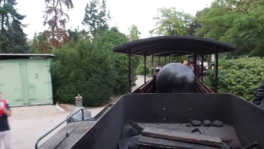 Hier dampfts und pfeifts: Auf Fahrt mit einem Zug der Schinznacher Baumschulbahn