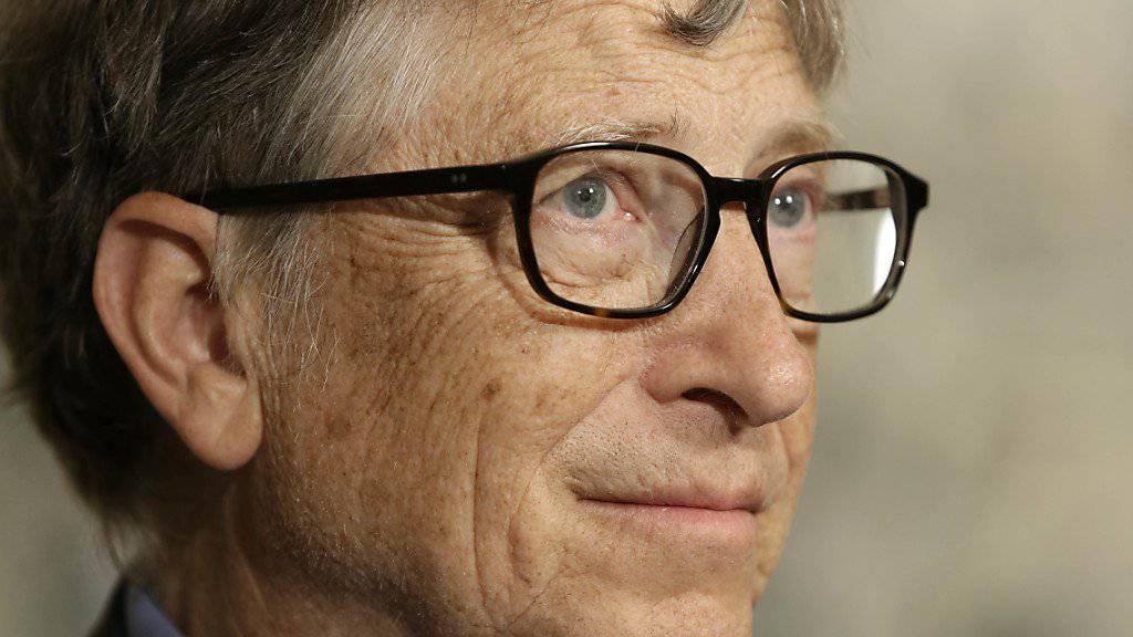 Reicher als er ist niemand: Bill Gates führt die Liste der reichsten Menschen an. (Archivbild).