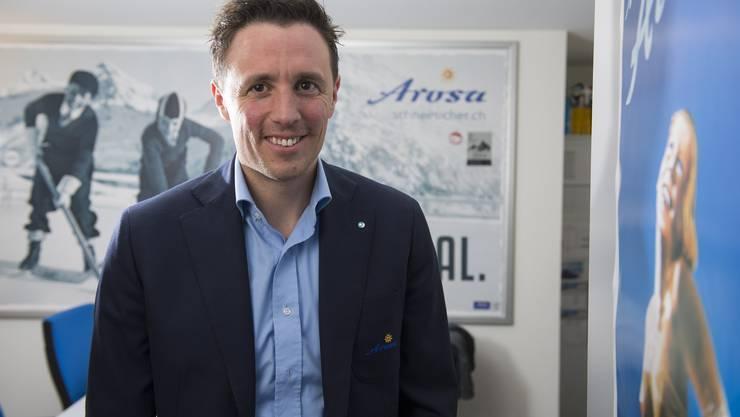 Pascal Jenny, Arosas Tourismusdirektor.