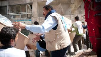 UNO-Hilfsgüter für rund 25'000 Menschen treffen in belagerten syrischen Städten ein. (Archivbild)