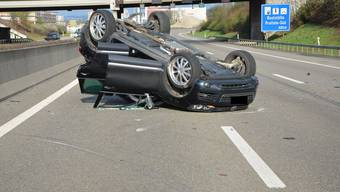 Auffahrkollision auf der A2 bei Pratteln