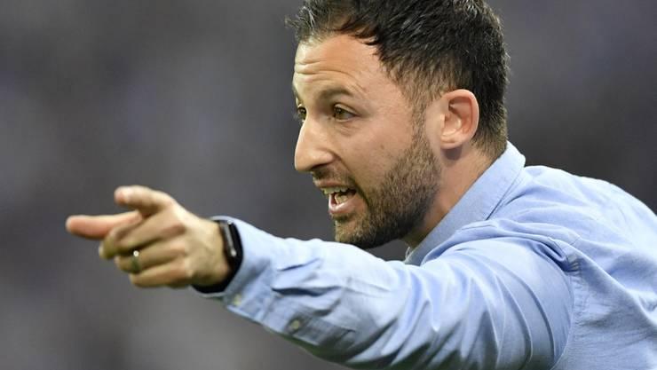 Wird langfristig auf Schalke arbeiten: Cheftrainer Domenico Tedesco
