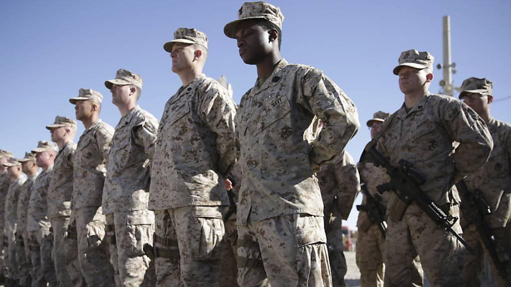 USA informieren Alliierte über Abzug von Truppen aus Afghanistan