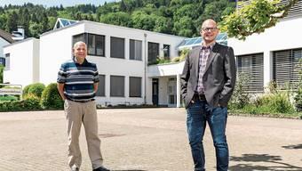 Die beiden letzten Gemeindepräsidenten Spreitenbachs: Valentin Schmid (l.) war 8 Jahre im Amt, Marcel Lang 22 Tage.