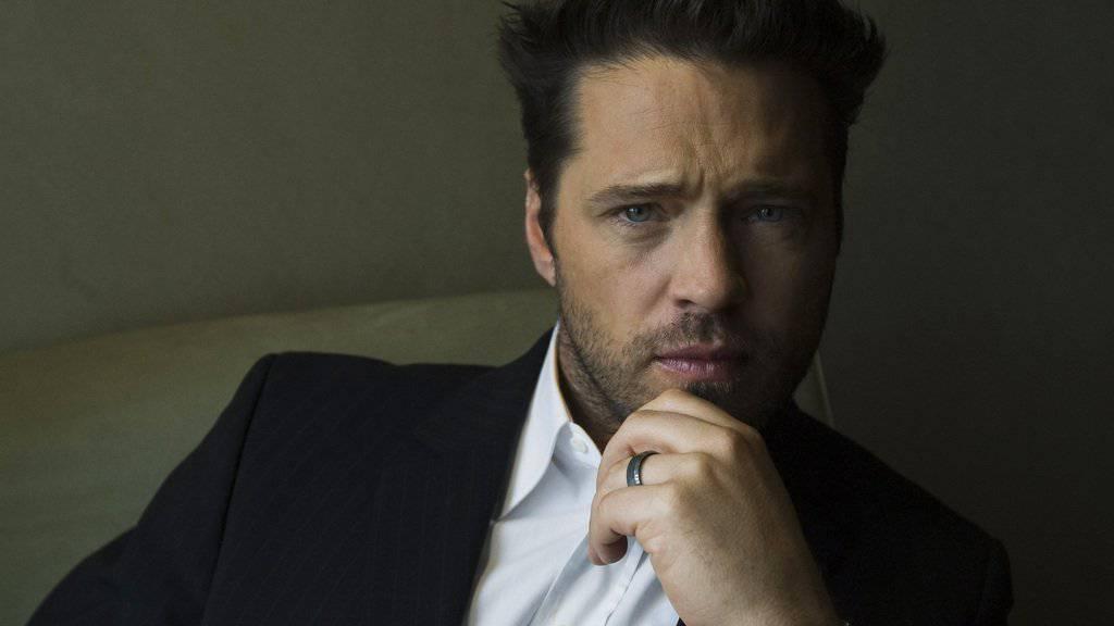 Jason Priestley, der Mädchenschwarm aus «Beverly Hills 90210» ist vom Pferd gefallen (Archiv).