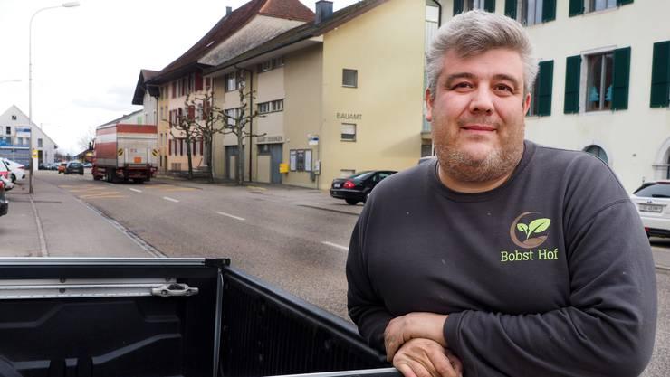 Pirmin Bobst bedauert den Entscheid, den Zibelimäret in Oensingen künftig nicht mehr auf der Hauptstrasse durchführen zu können.