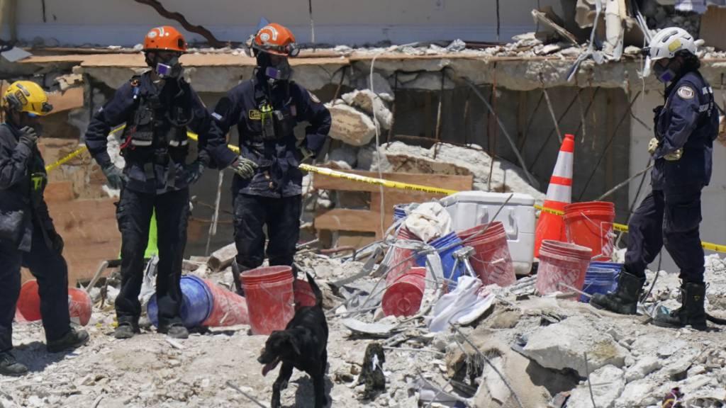 «Unerträglich für alle»: Weitere Leichen nach Hauseinsturz gefunden