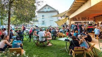 Die Festbeiz Utopia verfügt über einen schönen Garten und ist mit seinem kulinarischen Angebot eigentlich mehr als «nur» eine Beiz.