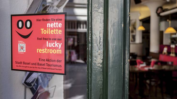 Das «Tapas del Mar Spalenberg» stellt auch nicht Konsumierenden gratis sein WC zur Verfügung.