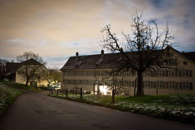 Nachtaufnahme der Klosteranlage bei Vollmond