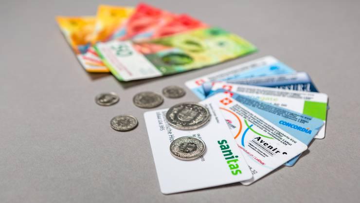 Im Kanton Zürich steht nächstes Jahr fast eine Milliarde Franken für die Prämienverbilligung zur Verfügung. (Symbolbild)