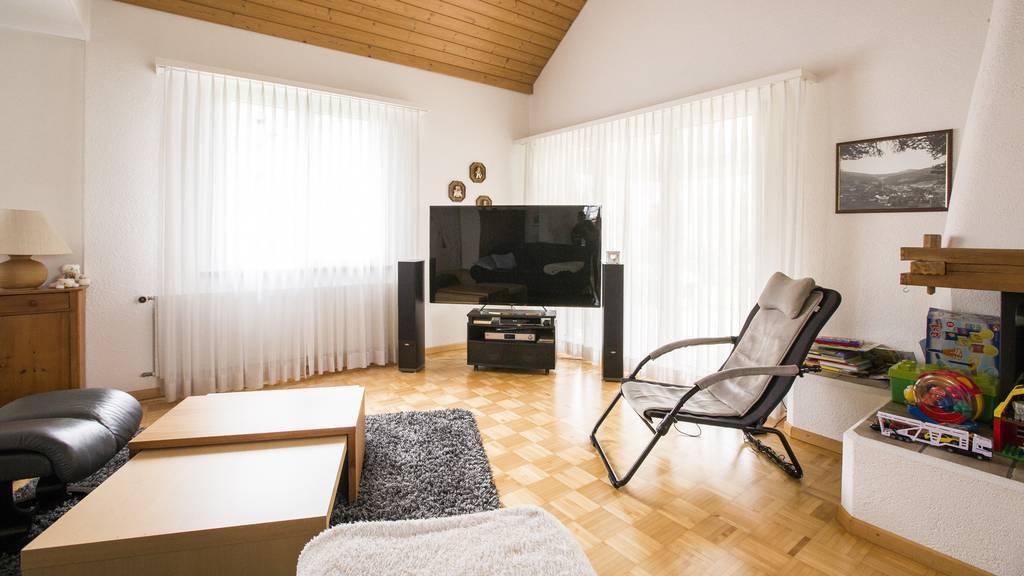 Hubacher Wohnzimmer-Umstyling vorher