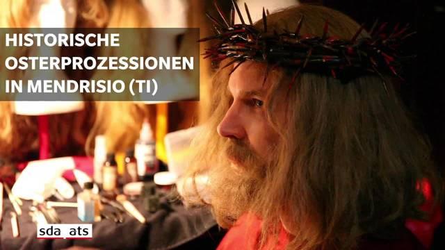 "Prozession in Mendrisio: ""Tod!"", ""Ans Kreuz!"""