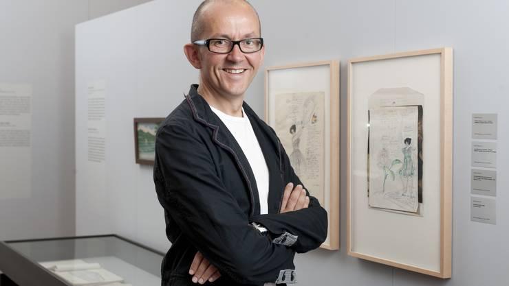 Professor Flurin Condrau ist stolz auf diese Ausstellung