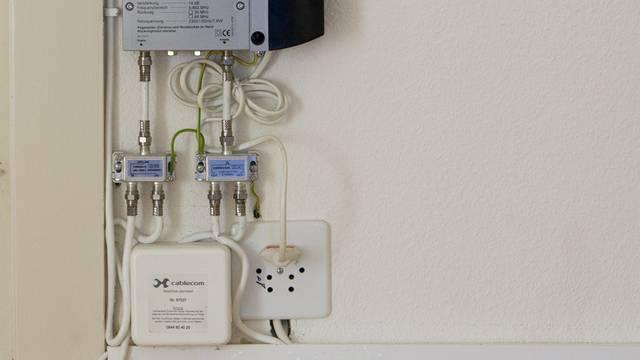 Internet- und TV-Anschlüsse in einer neuen Wohnung