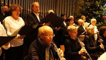 Stadtorchester Schlieren tritt gemeinsam mit dem Cäcilienchor auf - das Pilotprojekt war erfolgreich