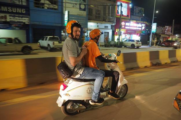 Die Tour mit «Vespa Adventures» durch Siem Reap war ein Highlight.