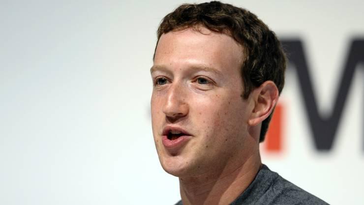 """""""Auch die Konservativen sind wichtig"""": Facebook-CEO Mark Zuckerberg reagiert auf die Manipulationsvorwürfe. (Archivbild)"""