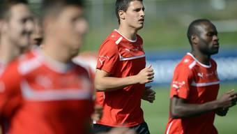 Fabian Schär und Innocent Emeghara testen heute in Solothurn gegen die Auswahl von Senegal