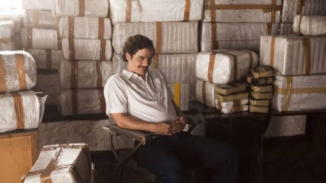 Wagner Moura (40) spielt den Drogenbaron Pablo Escobar in der Netflixserie «Narcos». Foto: Keystone/AP/Netflix