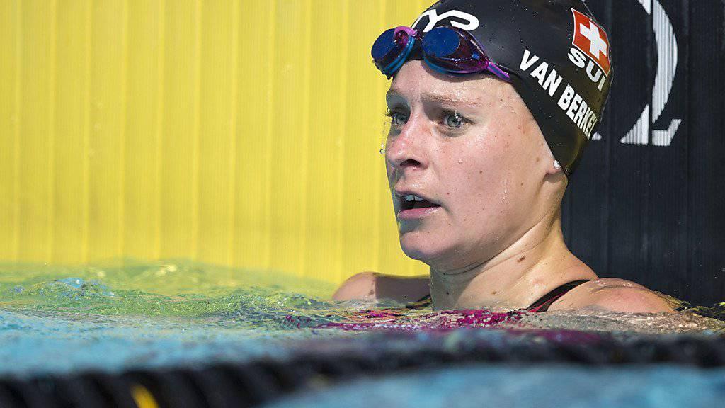 Martina van Berkel mit Schweizer Rekord im Halbfinal