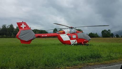 Deshalb steht ein defekter Rega-Helikopter auf der Wiese