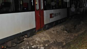Die Bahnstrecke Solothurn-Moutier wird noch bis Sonntagabend unterbrochen sein.