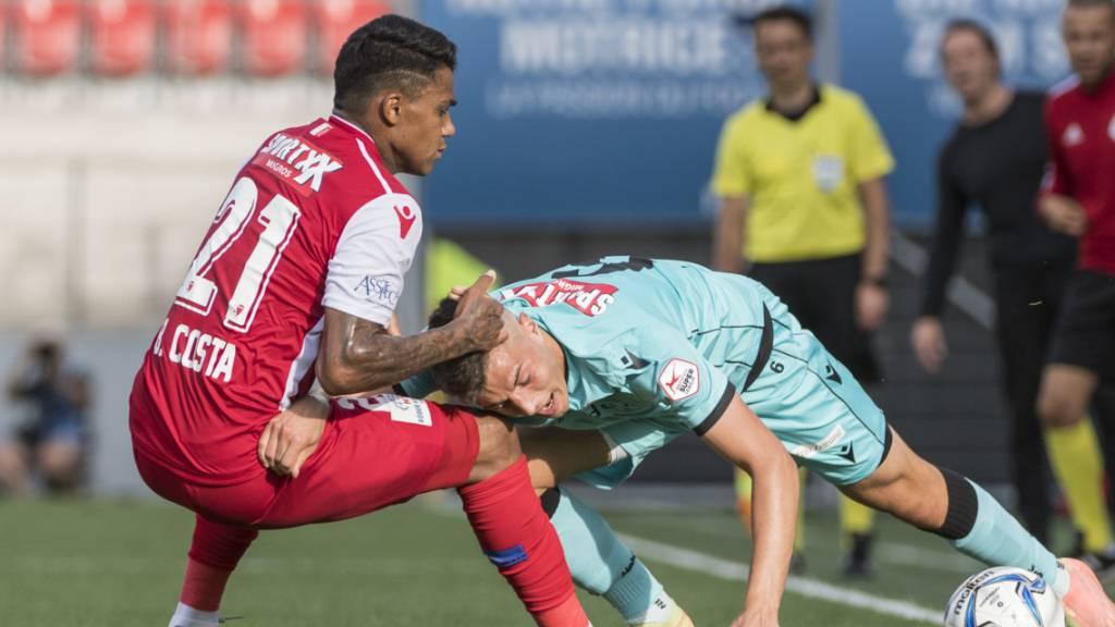 Eine vorteilhafte Punkteteilung für den FC Thun