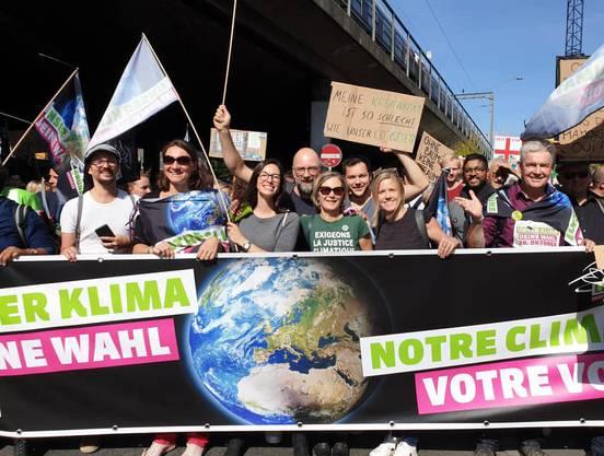 Grüne Parlamentarier*innen fordern Massnahmen für unser Klima. (zvg / keystone)