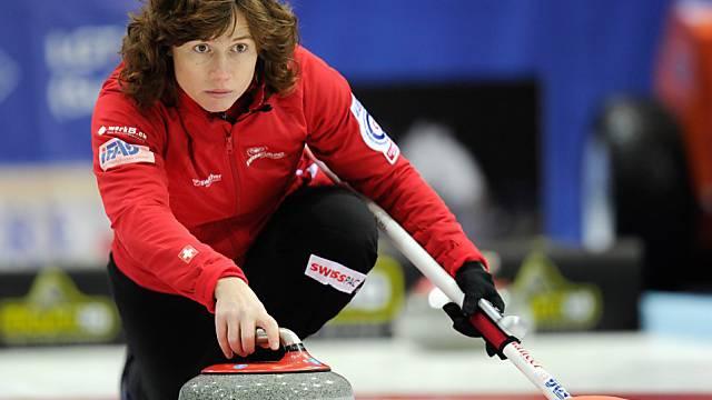 Skip Mirjam Ott steht an ihrer sechsten Curling-WM im Einsatz.