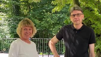 Christiane Guyer und Dieter Egli treten gemeinsam an.