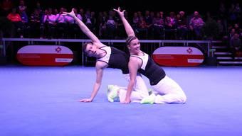 Sandra Lanz und Marcel Eberhard verpassten die Bronzemedaille nur hauchdünn..JPG