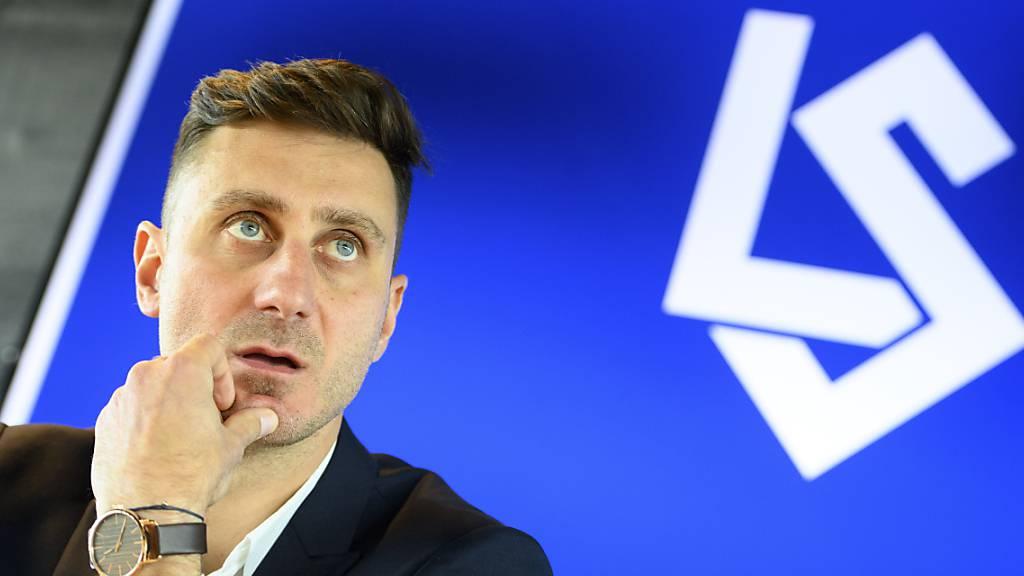 Der neue Mann an der Seitenlinie von Lausanne-Sport: Ilija Borenovic