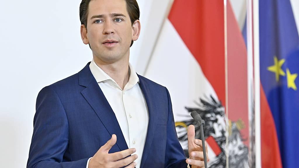 Österreichs Bundeskanzler Sebastian Kurz (ÖVP) regiert zusammen mit den Grünen. Foto: Hans Punz/APA/dpa