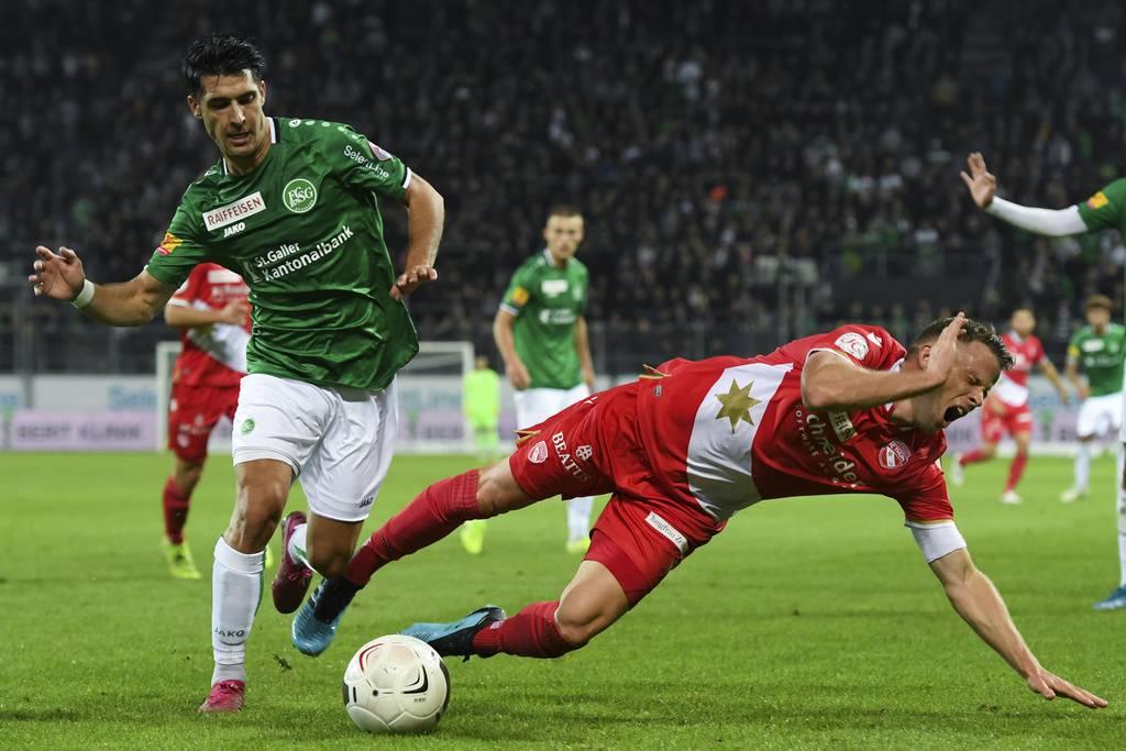 Der FC St.Gallen gewinnt 4:0 gegen Thun (© FM1Today)