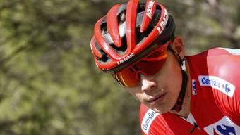 Zurück in Rot: Der Kolumbianer Miguel Angel Lopez holt sich in der 5. Etappe der Spanien-Rundfahrt das Leadertrikot zurück