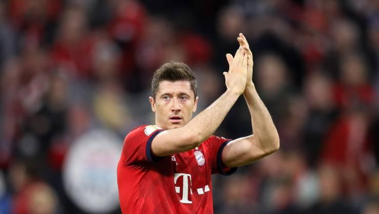 Robert Lewandowski rettete Bayern München nach der Pause