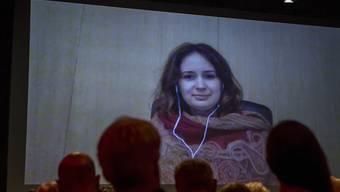 Erhält ihren ersten Grammy: die moldawisch-schweizerische Geigerin Patricia Kopatchinskaja. (Archivbild)