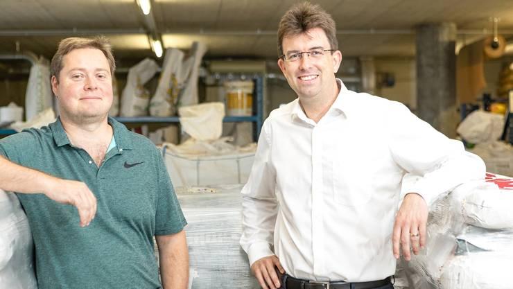 FCA-Präsident Philipp Bonorand und Clemens Hochreuter.